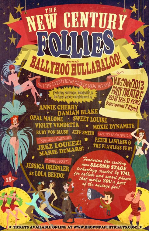 New Century Follies Ballyhoo Hullabaloo